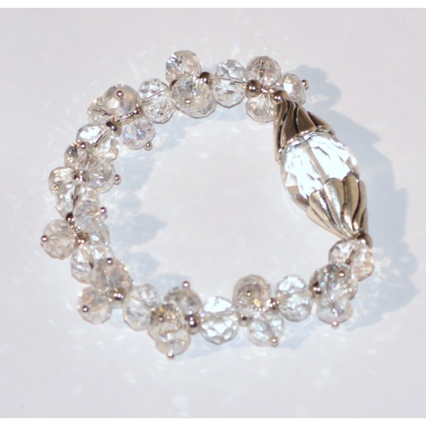 Bracelet pierre cristal de roche