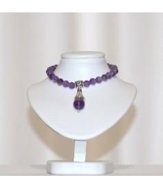 Bracelet en Améthyste.