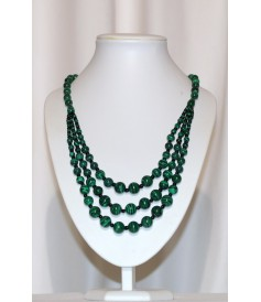 Collier en Malachite.