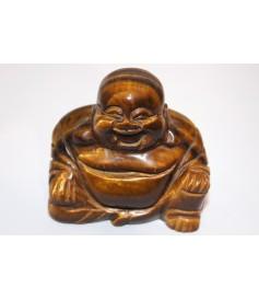 Bouddha en Œil de Tigre en provenance du Brésil