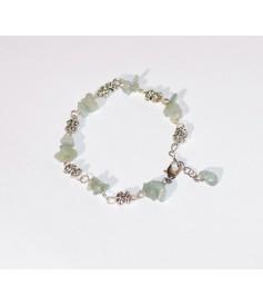 Bracelet en Amazonite, (Pierres Kiss)